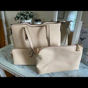Handbags - Pink Purse Set